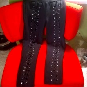 CI Sono lace up stretch pants sz Xlarge